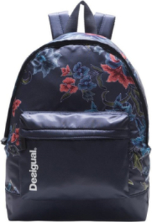 Desigual - unisex - Women's Backpack- Bach Geopatch Blue |Desigual.com - Backpach Geopatch Blue - Size U