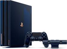PlayStation 4 Pro 500 Million Limited Edition, Nr. 22875/50000 2TB Mørkeblå Transparent