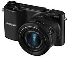 Samsung NX2000 20,3MP Sort