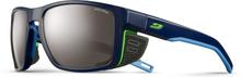 Julbo Shield Spectron 4 Sunglasses dark blue/blue/green-brown flash silver 2019 Sportglasögon