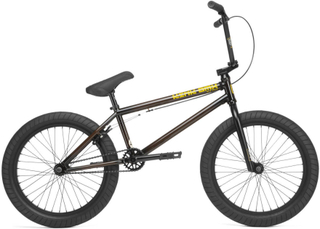 "Kink Gap 20"" 2020 Cassette Freestyle BMX Cykel 20.5"" Gloss Rootbeer Fade"