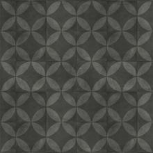 Tarkett Vinylgolv Trend 240 Tile Flower Black-2000