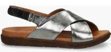 Sandały srebrne London