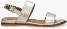 Sandały złote Ava
