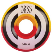 Welcome Orbs Apparitions Splits 99A 54mm Wheels red yellow Uni