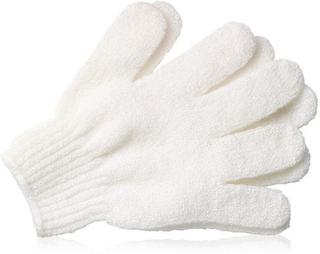 Bath Gloves White