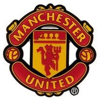 Manchester United Kjøleskapsmagnet 3D - Rød