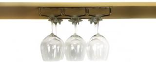 Glashängare för upphängning 3 rader