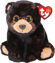 Ty knuffelbeer junior 15 cm pluche bruin