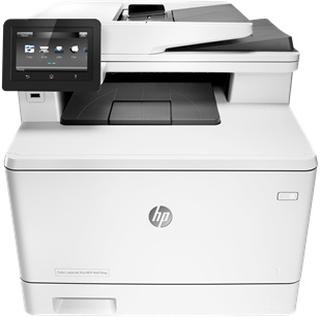 HP Color LaserJet Pro MFP M477fnw skrivare