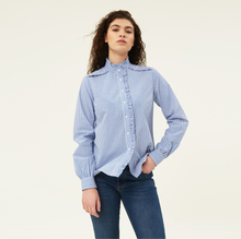 Marianne Ruffle Organic Cotton Shirt