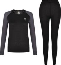Dare 2B onderkleding thermisch Exchange dames zwart/grijs