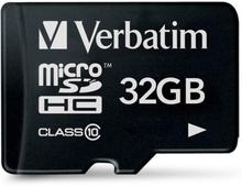 Verbatim Premium microSDHC Class 10 Hukommelseskort m. 32GB