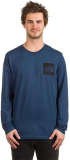 Fine T-Shirt LS blue wing teal Gr. XL