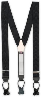 Seler von Albert Thurston. Grösse: One size. Farbe: Sort. Albert Thurston Moire Braces 40 mm Black