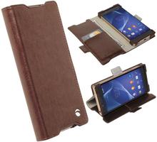 Krusell Ekerö FolioWallet Sony Xperia Z5 Mørkebrun