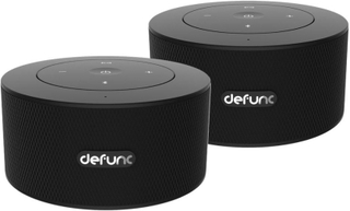 Defunc DUO Stereo System Speakers - Trådløse Bluetooth Højttalere - Sort