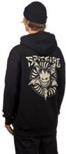 Spitfire Nocturnus Hoodie black w/ raw discharge pr S