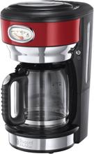 Kaffebryggare Retro Red - Russell Hobbs