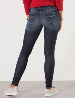 Replay, Hyperflex Skinny Fit Jeans, Blå, Jeans till Pige, 16 år
