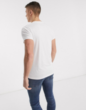 Abercrombie & Fitch logo t-shirt in white
