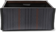 Pelle Tessuta Leather Valet Case - Black