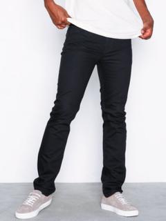 Lee Jeans Rider Black Rinse Jeans Svart
