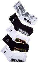 Globe Malcom Crew 7-11 5Pk Socks camo Uni