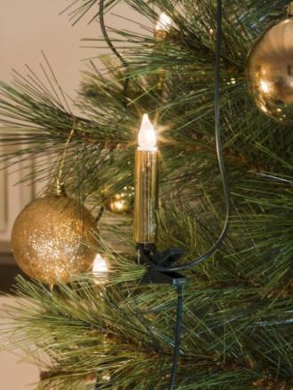 Juletrebelysning 2316 gull