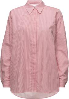 Timeo Shirt Langermet Skjorte Rosa Just Female