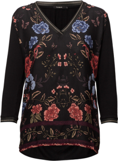 Ts Granada T-shirts & Tops Long-sleeved Svart DESIGUAL