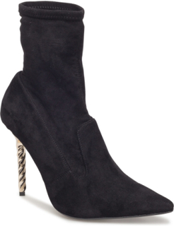 Ozana Shoes Boots Ankle Boots Ankle Boots With Heel Svart DUNE LONDON