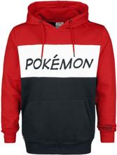 Pokémon - Logo -Hettegenser - rød, svart, hvit