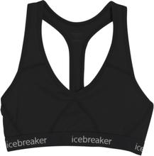 Icebreaker Sprite Racerback Bra Women black/black S 2021 Sport BH