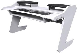 Studio Desk Beat Desk All White