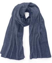 Schal aus 100% Kaschmir include blau