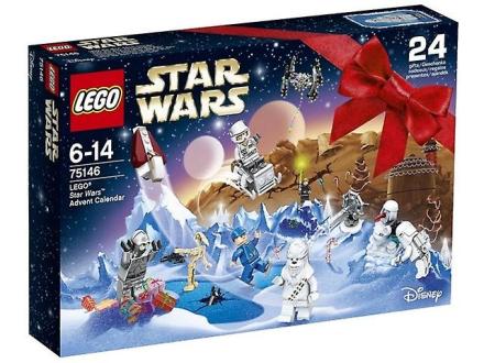 LEGO Star Wars julekalender 2016, 75146 - Fruugo