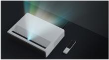 Xiaomi MI Laser Projector 150 - DLP-projektor - laser/fosfor - 5000 lumen - Full HD (1920 x 1080) - 16:9 - 1080p - ultrakort kast objektiv - Wi-Fi / Bluetooth / LAN