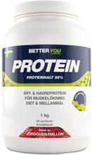 Better You Ärt & havreprotein Jordgubb/Hallon 1 kg