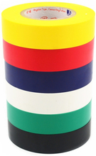 1pcs Electrical Tape Insulation Adhesive Tape Waterproof PVC 18mm Wide High-temperature Tape 18M