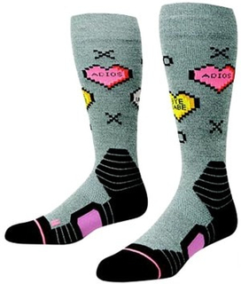 Candy Park Tech Socks grey Gr. S