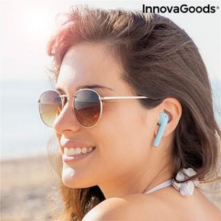 Trådløse høretelefoner med magnetisk oplader NovaPods InnovaGoods Gul