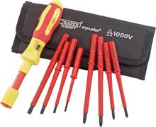 Draper Tools Expert VDE Momentskruvmejselsats 9 delar 65372