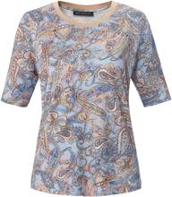 Rundhals-Shirt Betty Barclay blau