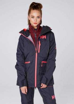 Kvitegga Women's Shell Jacket Tummansininen XL