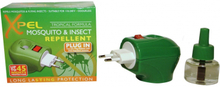 Xpel Mosquito & Insect Relief Plug-In 1 stk + 35 ml