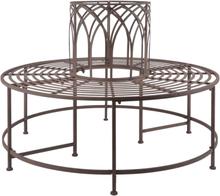 Esschert Design bænk til træ metal