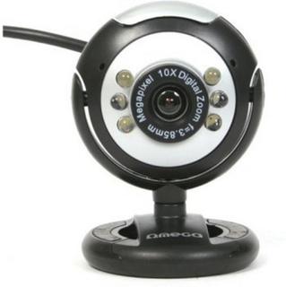 Webbkamera Omega C12SB 12 mpx LED Svart