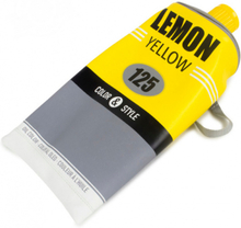 Balvi etui/toilettas verftube junior PVC 30,5 x 15 cm geel