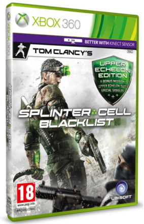 Tom Clancy's Splinter Cell: Blacklist - Upper Echelon Edition /Xbox 360